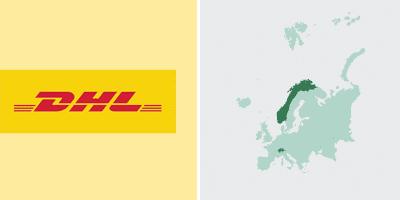 DHL Versand in Europa