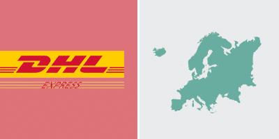 DHL Express-Versand in Europa Zone3