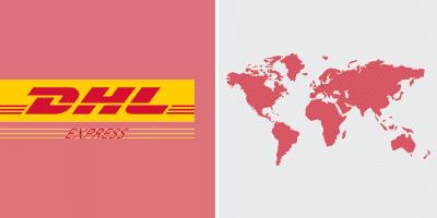 DHL Express-Versand Weltweit